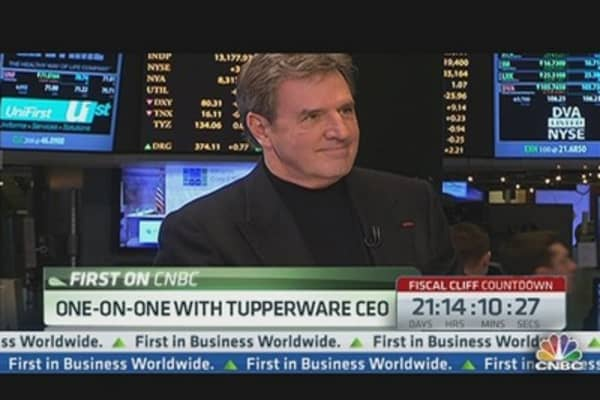 Tupperware CEO: Power of Our Business Is Power of Women