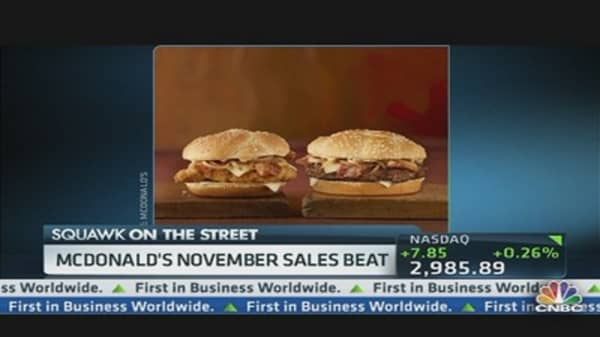 McDonald's Cheddar Bacon Boost