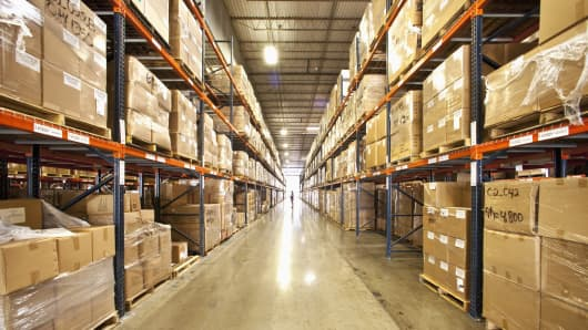 Wholesale warehouse goods