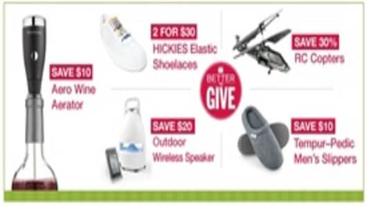 Brookstone Gift Giving