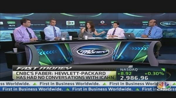 Buy Hewlett-Packard on Icahn Rumor? Pros