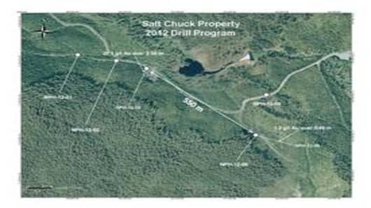 Salt Chuck Property 2012 Drill Program