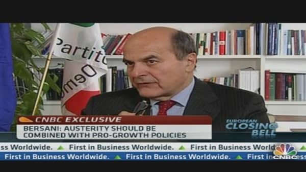 Bersani Vows to Stick With Italy Reforms