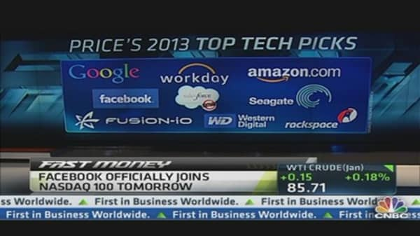 Top Tech Picks for 2013: Price