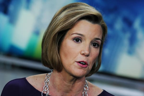 Sallie Krawcheck, former president of the wealth management division for Bank of America Corp.