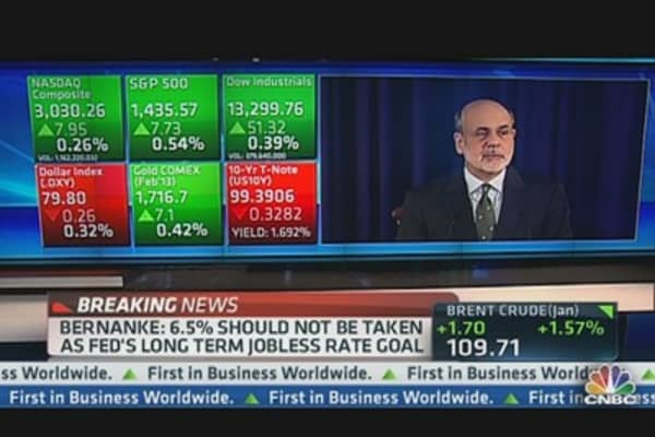 Bernanke: Economy Expanding at Moderate Pace