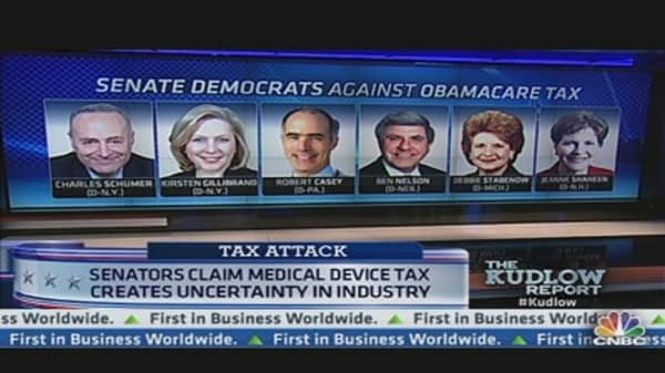 18 Democrats Oppose Tax in Obamacare