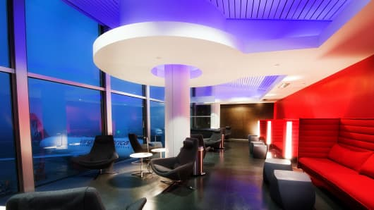 Virgin Atlantic Loft at LAX airport