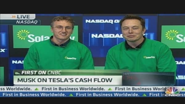 SolarCity Debuts at $8 Per Share