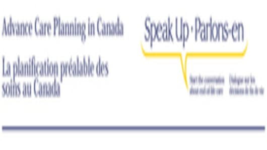 Advance Care Planning in Canada & Speak Up Logo