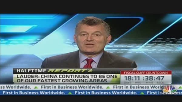 'Extraordinary' China Prospects: William Lauder