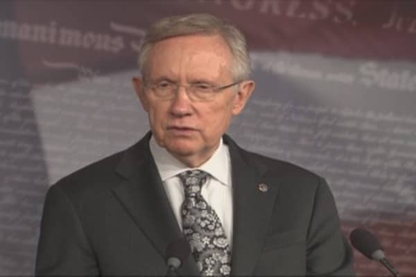 Sen. Reid: Boehner Can't Ignore American People Forever