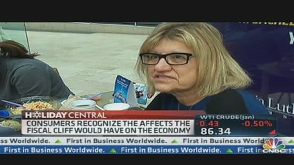 Consumers Ignoring the Fiscal Cliff?