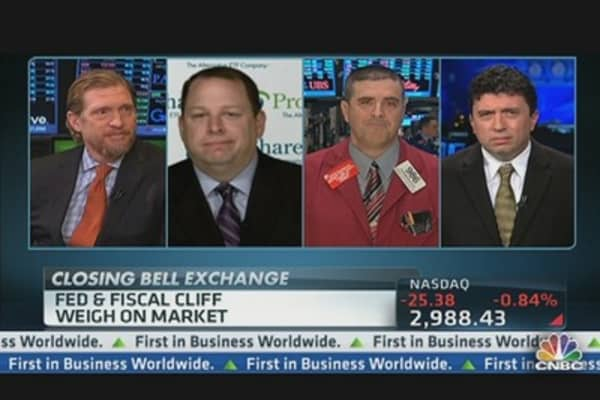 Fed & Fiscal Cliff Weigh on Market