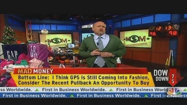 Cramer: Gap Pulled Back, Buy Now