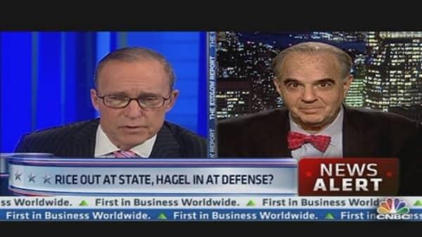 Report: Hagel on Defense Secretary Short List