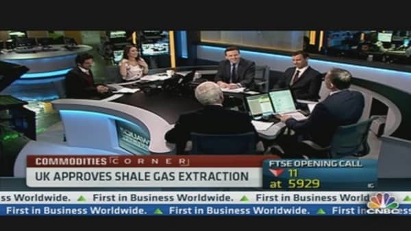 UK Approves Shale Gas Extraction