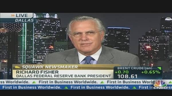 Fisher on Fed's 'Hotel California' Fiscal Policy