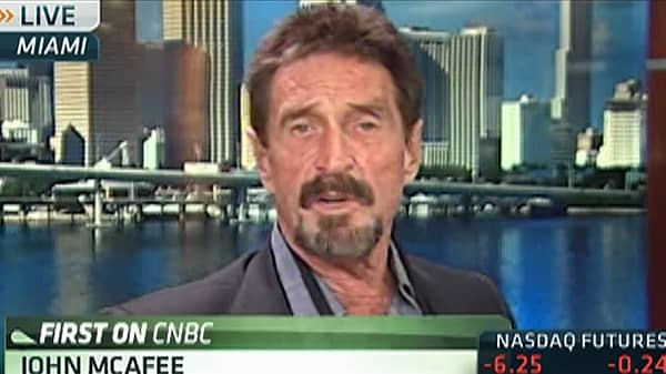 John McAfee: 'I Will Not Be Charged With This'