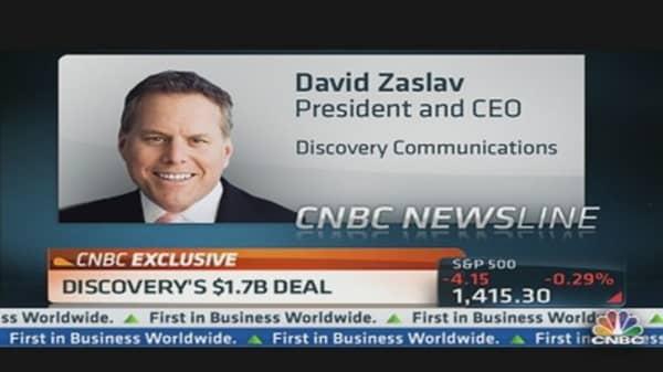 Discovery CEO Growing Overseas Portfolio