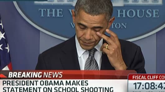 Pres. Obama on CT Shooting: 'Our Hearts Are Broken Today'
