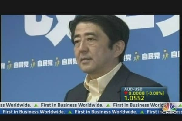 A Second Chance for Shinzo Abe