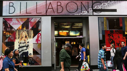 Billabong International Limited shares rocket higher following takeover approach