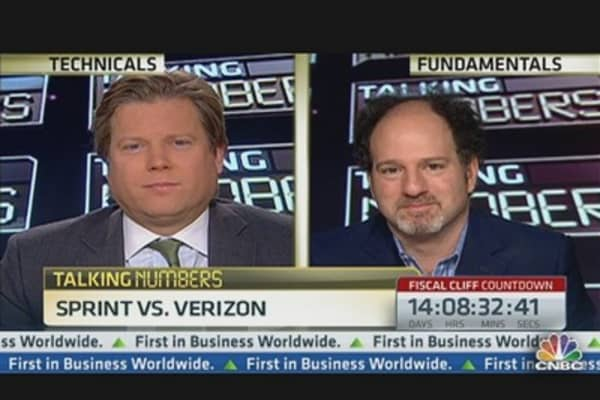 Talking Numbers: Buy Sprint or Verizon?