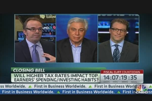 Higher Tax Rates to Impact Top Earners' Spending?