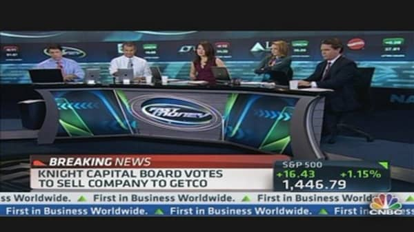 Knight Capital Board Votes to Sell Company to Getco