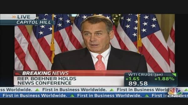 Rep. Boehner: I Hope the President Gets Serious Soon