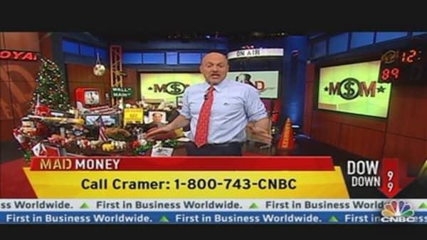 Cramer Focuses on the Positive