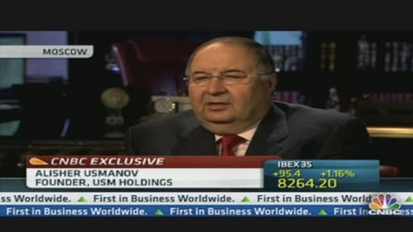 Russia's Umanov: We Continue to Respect Lloyd Blankfein