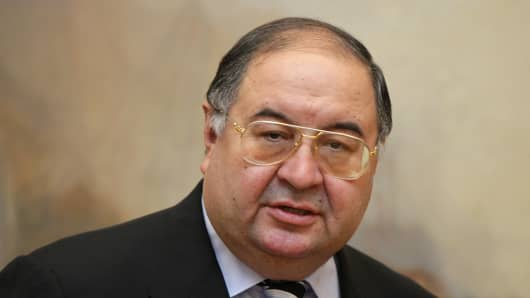 Russian Oligarch Alisher Usmanov