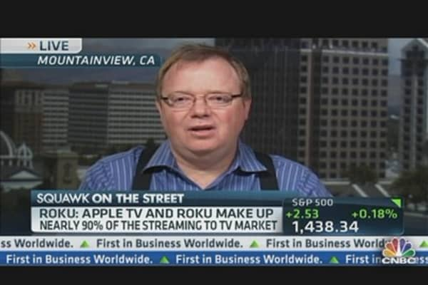 Channel Surfing With ROKU CEO