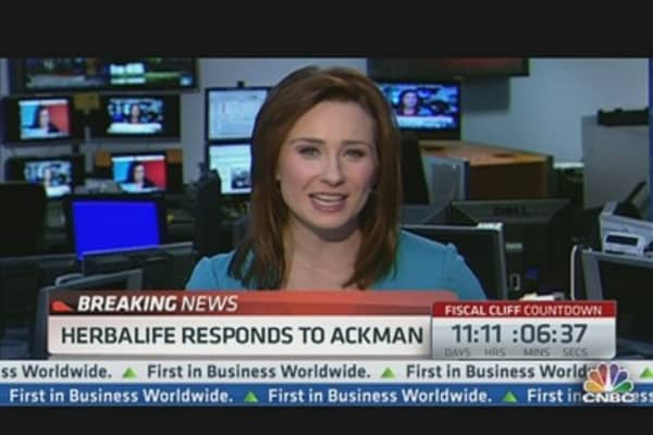 Herbalife Responds to Ackman