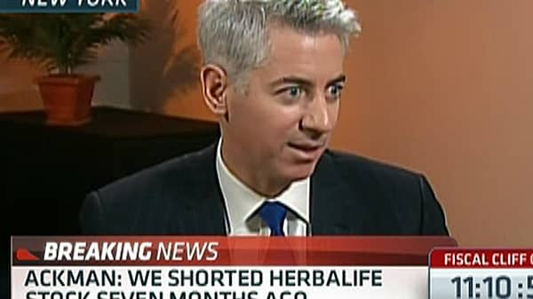 Ackman: Why I Am Shorting Herbalife