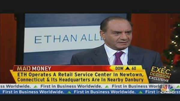 Ethan Allen CEO on International Biz &