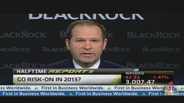 Go Risk-On in 2013: BlackRock's Fredericks