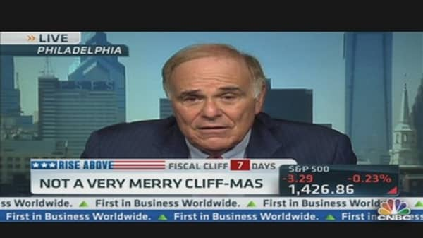Not a Very Merry Cliff-Mas