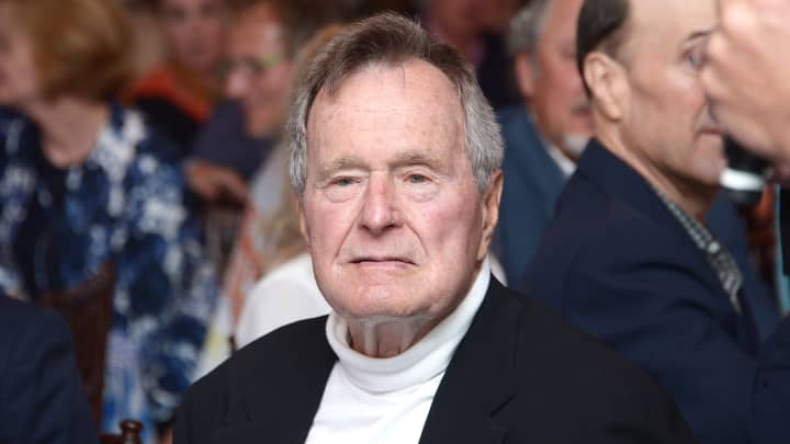 George H.W. Bush hospitalized after contracting infection