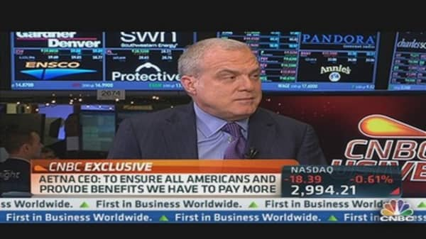 Aetna CEO on 'Debt Clock'
