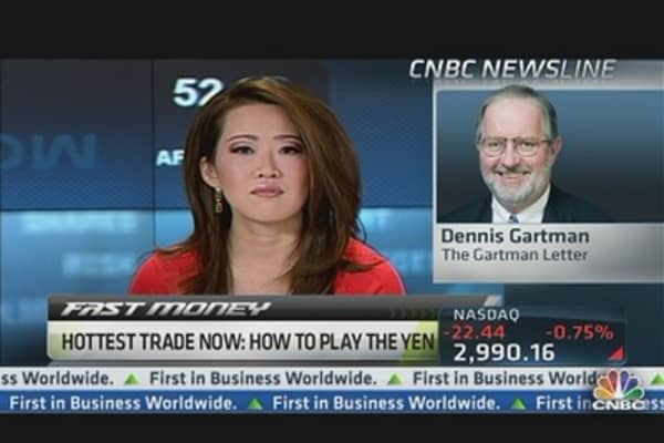 Dennis Gartman: Why I'm Selling Japanese Yen