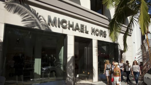 Michael Kors LLC store on Rodeo Drive