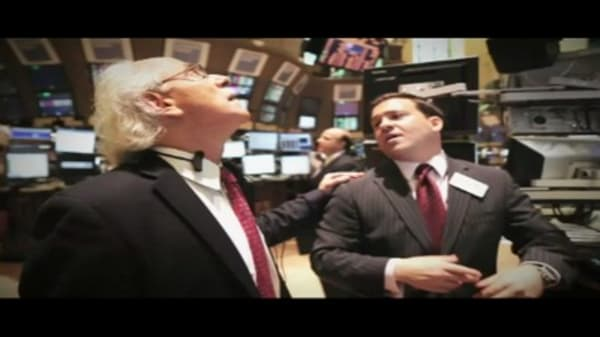 Peter Tuchman, Floor Broker, NYSE