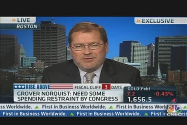 Grover Norquist Talks Taxes