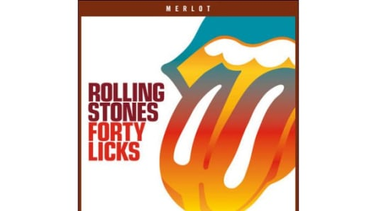 Rolling Stones Forty Licks wine