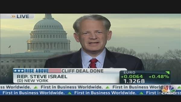 Rep. Israel: House Threw us Off 'Hurricane Cliff'