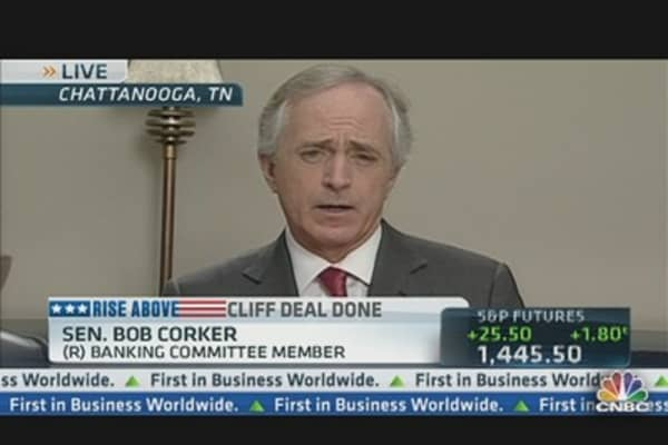 Don't Be 'Lackey' For President: Sen. Corker