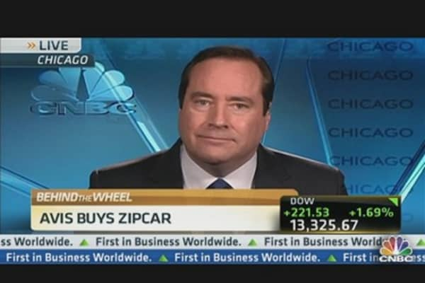 Avis Buys Zipcar in All-Cash Deal